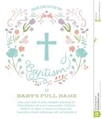 baptism christening first holy communion invitation template
