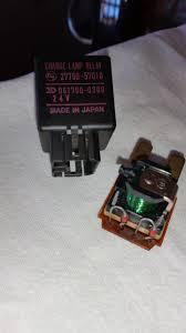 lexus lx 470 warning lights intermittent discharge warning filter and brake warning lights