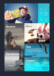 best homepage design inspiration block style responsive web site digital world design pinterest