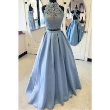 evening gown lace prom dresses blue gown evening dresses two blue
