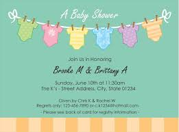 Blank Invitations Neutral Blank Baby Shower Invitations Barberryfieldcom