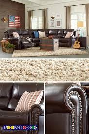 Macys Sleeper Sofa Alaina by Shop For A Sofia Vergara Sybella Blue Blended Leather 4 Pc