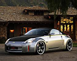 custom black nissan 350z the fifth generation of nissan 350z model