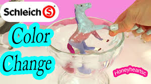 diy schleich color changing foal easy horse nail polish craft do