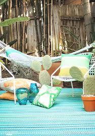 tapis exterieur pvc recyclé louisiane design côté maison