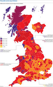 Hull England Map by The Public Sector Employment Map Of Britain 2008 News