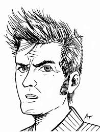 tenth doctor drawing sketch drawing art u0026 skethes