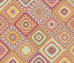 s millefiori cheater quilt fabric groovity spoonflower