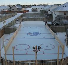 Backyard Rink Ideas Backyard Rink Ideas 1000 Images About Diy Rink On