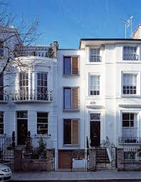 Narrow House Designs by Modern Narrow House In London Built Within A Slot Which Was