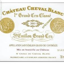 learn about chateau cheval blanc 2003 chateau cheval blanc emilion grand cru prices
