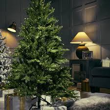 santa u0027s best 108 function pre lit european fir christmas tree
