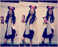Minnie Mouse Halloween Costume Diy Minnie Mouse Halloween Tutorial Makeup Costume Hair
