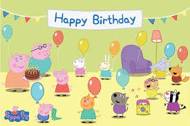 peppa pig birthday peppa pig birthday clipart 34