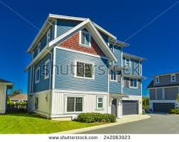 House With Garage Suburban Home Exterior Stock Images Royalty Free Images U0026 Vectors