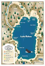 Illinois Brewery Map by North Lake Tahoe Ale Trail Map Go Tahoe North