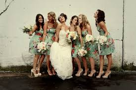 print bridesmaid dresses bridesmaid dress trends