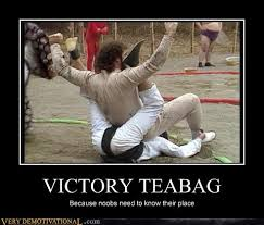 Tea Bag Meme - victory teabag very demotivational demotivational posters
