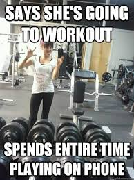 Girls At The Gym Meme - female workout memes zenfitt org