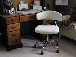 Armless Swivel Desk Chair by White Desk With Drawers And Chair Best Home Furniture Decoration