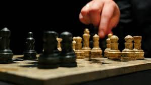 Games To Play In A Dark Room - beautiful little learns to play chess 5 stock footage video