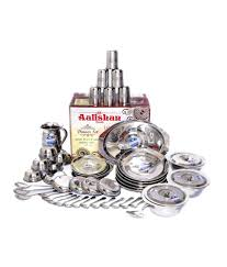 Silver Dinner Set Online Shopping India Rekomart Online Shopping India Buy Discount Products And Earn Cash