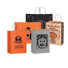 custom imprinted halloween bags myshopangel promotional products