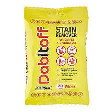 upholstery stain removal kilrock dabitoff carpet upholstery stain remover wipes x20 lakeland