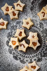 apricot almond linzer cookies country cleaver