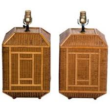 Rattan Table Lamp Rattan Table Lamps 33 For Sale At 1stdibs