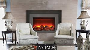 Electric Insert Fireplace Ins Fm 30 Electric Insert Sierra Flame