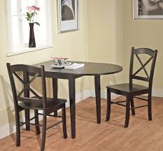 Space Saver Kitchen Table Small Dining Table Drop Leaf Dinette Kitchen Breakfast Nook Cozy