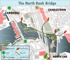 Boston Station Map by The North Bank Bridge U2013 Get Ready To Ride Boston