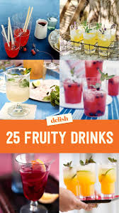 fruit alcoholic drinks fruity drinks with alcohol recipes