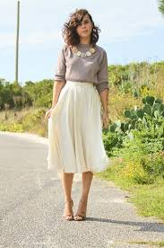midi skirt 30 ways to wear a midi skirt 2017 fashiontasty
