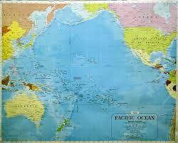 Map Of Oceans Pacific Ocean U2022 Mapsof Net