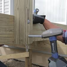 How To Build A Banister How To Build A Deck Wood Decking And Railings