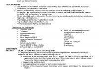 sample travel nursing resume free template icu nurse resume