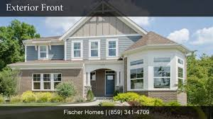 the bradford floorplan by fischer homes youtube