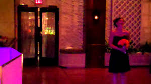wedding reception introductions by crowd control entertainment at