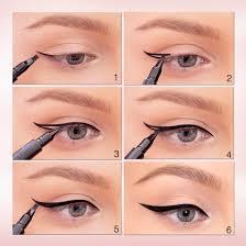 liquid eyeliner tutorial asian winged eyeliner tutorial learn how to apply winged eyeliner