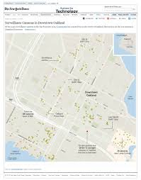 red light camera california map surveillance cameras in downtown oakland map nytimes com