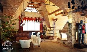 medieval style in interior design by algedra