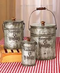 Kitchen Decorative Canisters by Decorative Kitchen Canisters Ebay