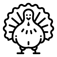 thanksgiving day icons noun project