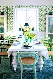 apartments interesting vintage dining room black and green stool