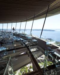 new images show design for space needle u0027s glass restaurant floor