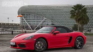 how much is a porsche boxster porsche boxster 718 drive review overdrive