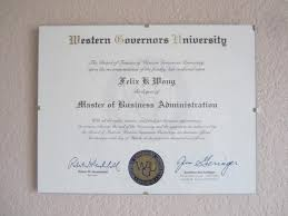 Resume Sample Masters Degree In Progress by How I Did An Mba In 4 5 Months At Western Governors University