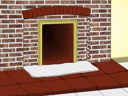 Cleaning Bricks On Fireplace by How To Clean Soot From Brick With Pictures Wikihow